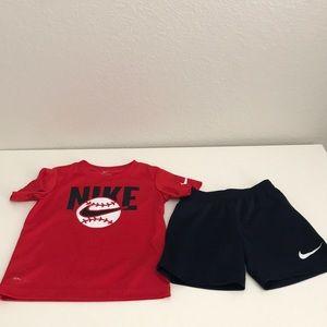 Toddler Boy Nike set 4T
